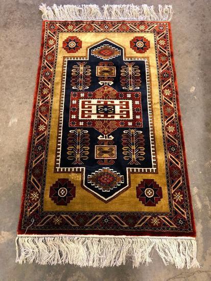 Turkish Handmade Silk Rug