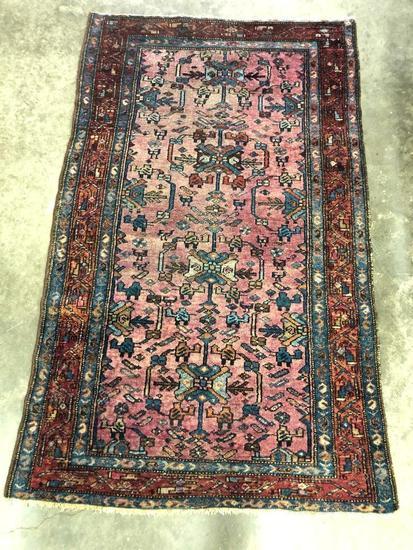 Handmade Persian Lilihan Oriental Rug