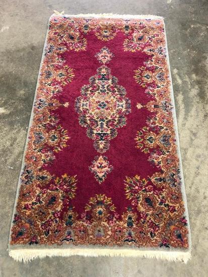 Karastan Machine Made Kerman Design Rug