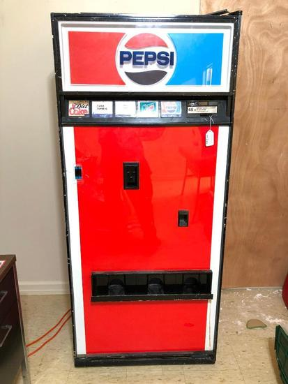 Vintage, Pepsi Vending Machine, Will need repaired