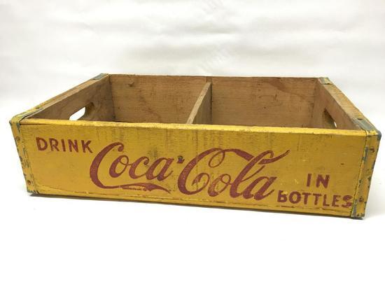 Vintage Coca-Cola Wooden Crate