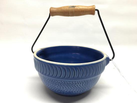 Stoneware Mixing Bowl W/Bail