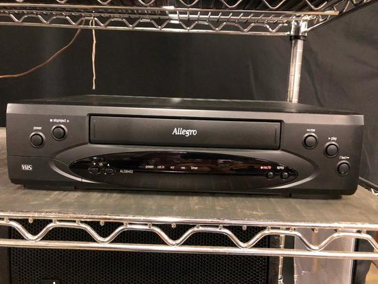 Allegro Video Cassette Recorder with Box and Remote