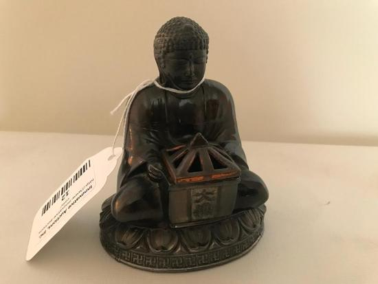 Metal Buddha Incense Burner
