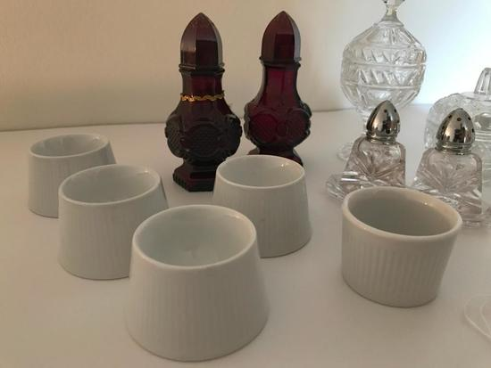 Group Of Glassware & Porcelain