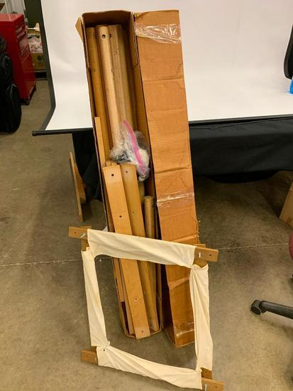 Vintage Quilting Frame In Box