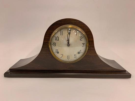 Vintage Gilbert Mantle Clock W/Pendulum