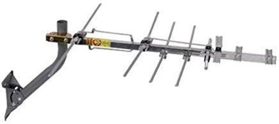 TV Antenna - RCA Compact Outdoor Yagi Satellite HD Antenna with 150 Mile Range