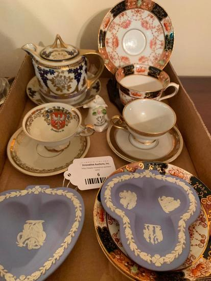 Group Of English Porcelain