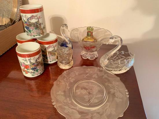Group Of Misc. Glass & China
