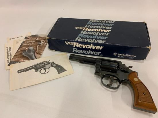 Smith & Wesson Double Action .357 Magnum In Original Box W/Paperwork