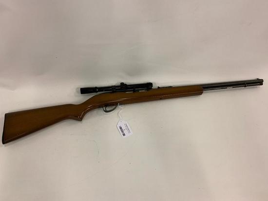 Springfield Savage Model 187 Rifle W/Scope