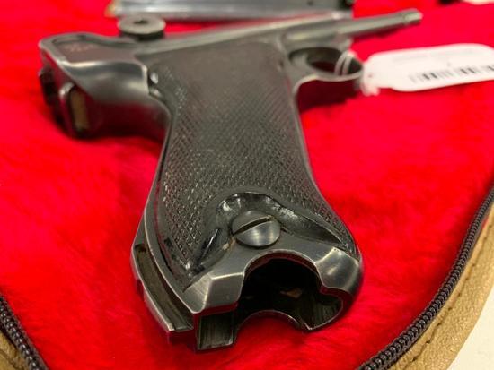 "Lugar ""P08"" 9mm Pistol W/1 Clip"