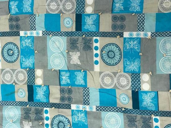Free Form Modern Design Quilt.