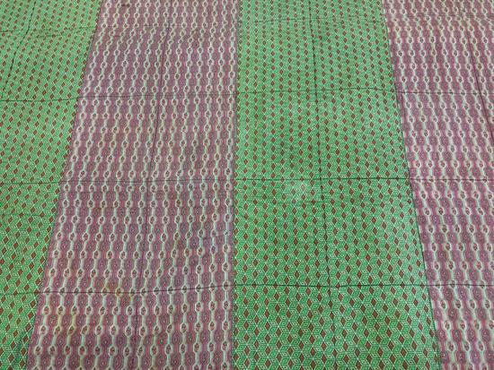 Pieced Patchwork Quilt.
