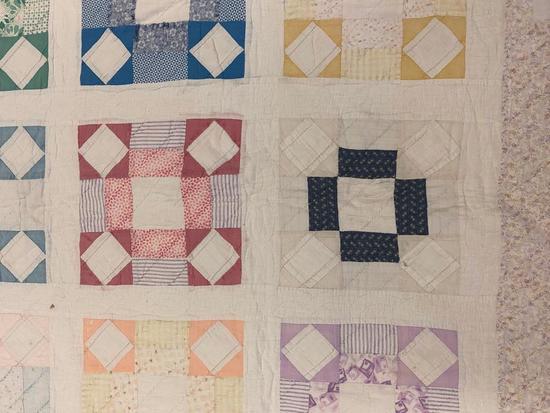 Vintage Patchwork Quilt.