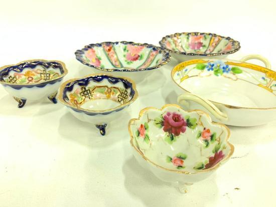 (5) Pcs. Oriental Design Porcelain