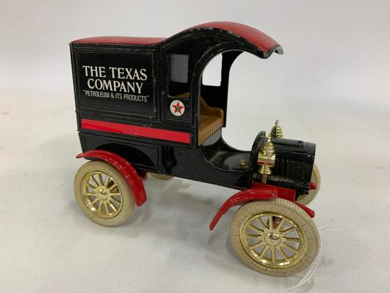 "Ertl 1905 Ford Delivery Van Bank ""The Texas Company Petroleum"""