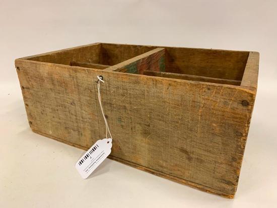 "Vintage Wooden ""Santa Clara Prunes"" Advertising Box"