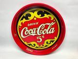 Coca Cola Serving Tray, 13 Inches in Diameter