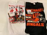 1990 Cincinnati Reds Sweatshirt & Bengals T-Shirt