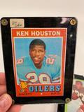 (3) 60's/70's Football Cards