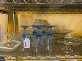 Shelf Of Misc. Glassware