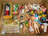 Large Group Of 50's & 60's Figurines & Cake Toppers