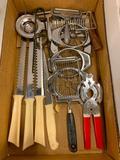 (4) Boxes Of Kitchen Utensils