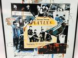 Decorative, Metal Beatles Sign, Measures 12 1/2 X 13 1/2 Inches, Licensed by Apple in 1996