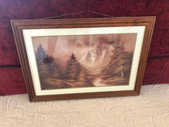"Framed & Matted Print By ""B. Chipton"""