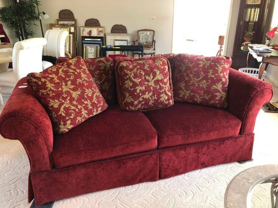 American Signature Series Couch W/Matching Pillows