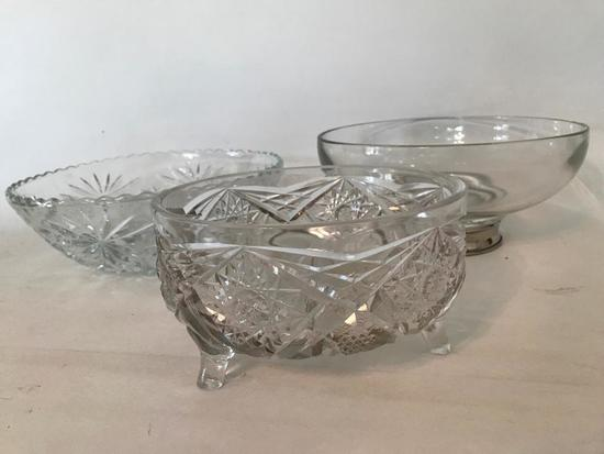 Group Of Glass Bowls