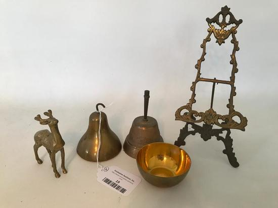 Group Of Brass Items