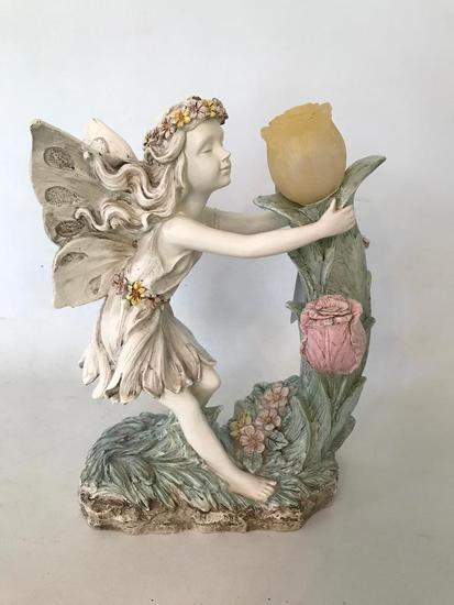 Resin Fairy Solar Light