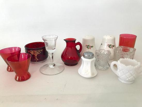 Group Of Misc. Glass