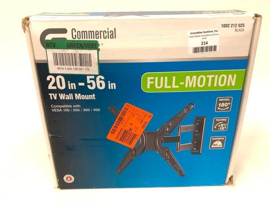 Commercial Electric 20-56 Inch TV Wall Mount