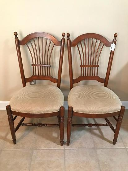 (2) Ethan Allen Dining Room Chairs