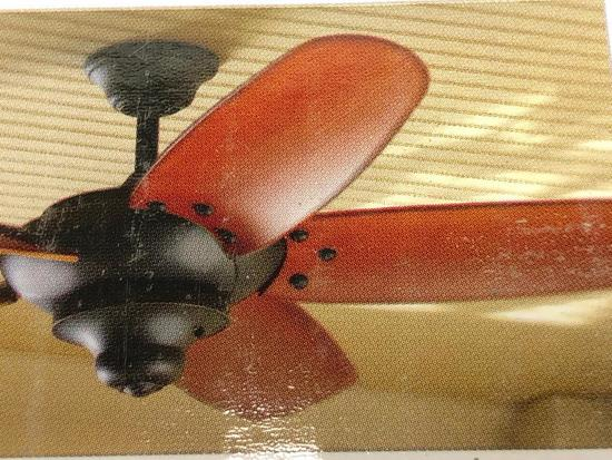68 inch Indoor Ceiling Fan. Home Decorators Collection Altura. Oil-rubbed broze finish w/Remote.