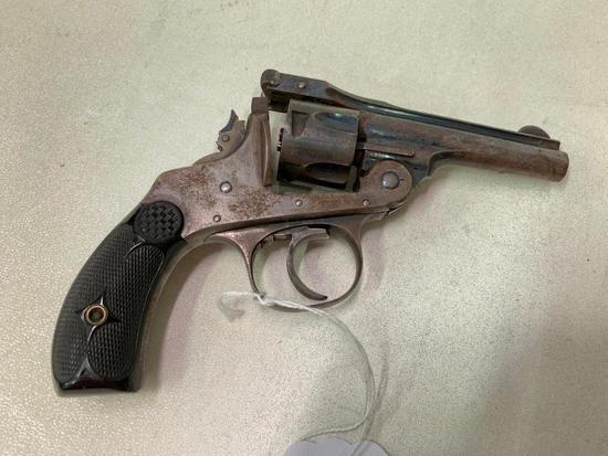Antique Hopkins & Allen 5 Shot Top Break Pistol