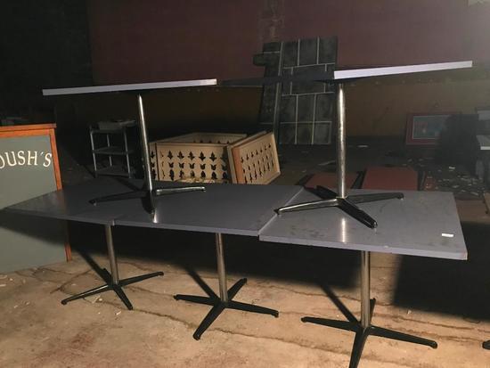 (5) Restaurant Tables