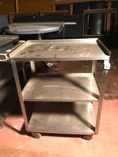 Stainless Steel Roll-Around Cart