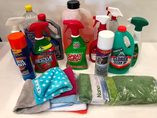 Cleaning Supplies! | Estate & Personal Property | Auctions