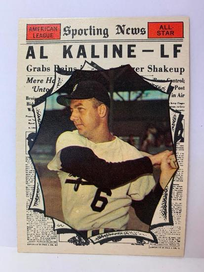 1961 Topps #580 Al Kaline All Star Card