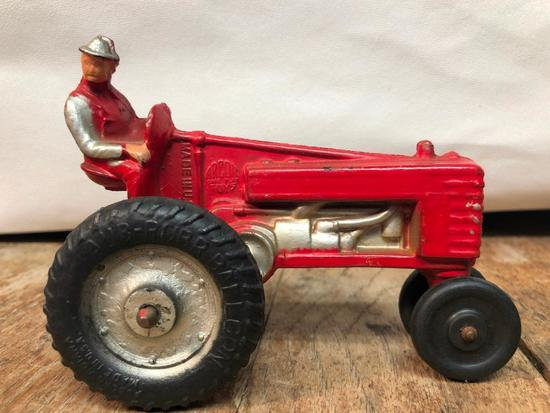 "Vintage ""Arcor Toys"" Hard Rubber Tractor"