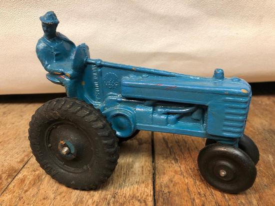 Vintage Arcor Toys Hard Rubber Tractor