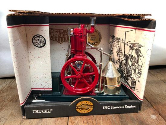 "Ertl IHC Famous Engine From ""Vintage Gasoline Engines Series"""