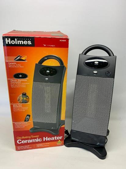 Holmes Oscillating Tower Ceramic Heater In Box