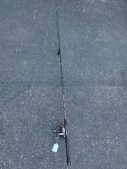 Shimano Spirex 4000FE Reel On Shakespeare GX2 Ugly Stick