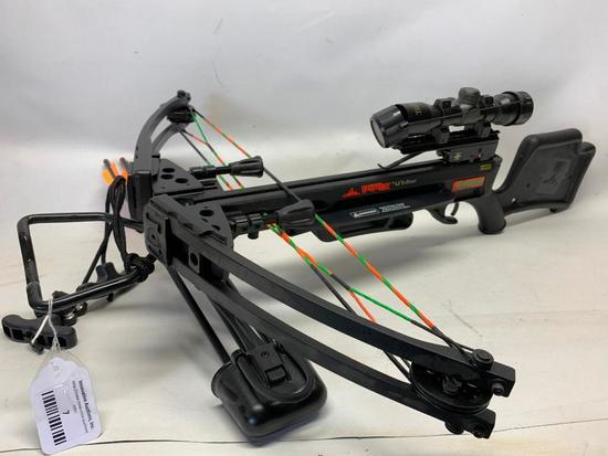 "Ranger ""Wicked Ridge"" Crossbow W/Arrows USA Made"